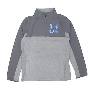 Under Armour- Boys fleece sweater, Size YLG